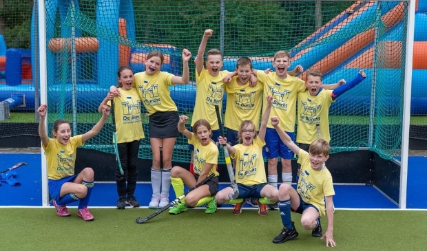 Het winnende team bij groep 7-8