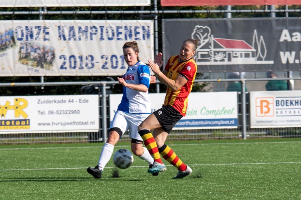 Nikki van Wijk opnieuw prima op dreef. Geert Nieuwenhuis © BDU Media