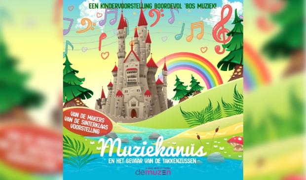 Een kindervoorstelling boordevol '80s muziek voor jong en oud!