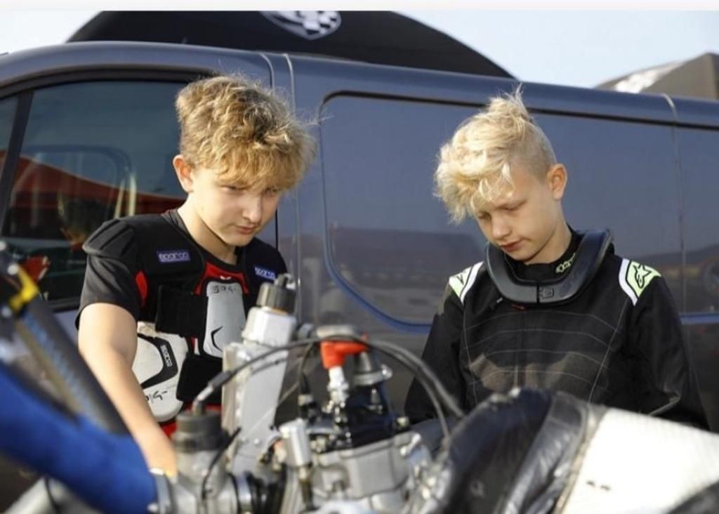 De broers Van de Pavert steken veel tijd in hun sport. Ben van de Pavert © BDU media