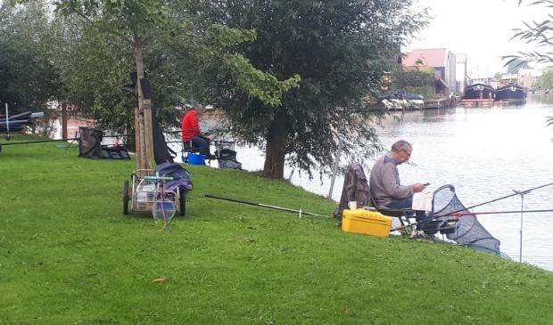 vissers langs de B.Giessen