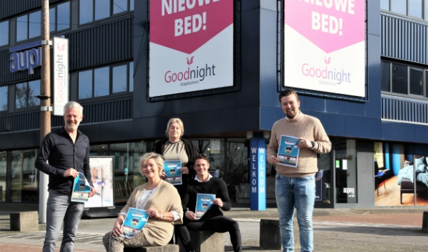 <p>Ook medewerkers van Goodnight Slaapkamers hopen dat veel mensen meedoen met de online quiz.</p>