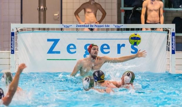<p>Eelco Wagenaar was een van de Edese spelers in het Oranjeteam.</p>