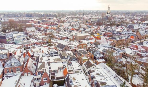 Een blik over de Nijkerkse binnenstad