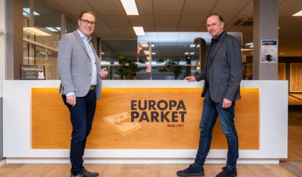 <p>Ad Jonker (links) en Lars Versteeg.</p>