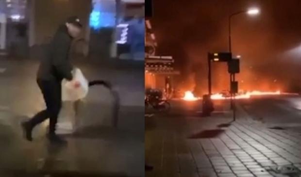 Brandstichting Steenstraat