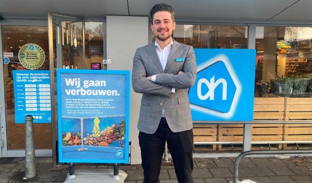 <p>Victor Kraaijeveld van AH Bourgondischelaan: &ldquo;Meer ruimte, meer vers en betaalgemak in onze vernieuwde Albert Heijn.&rdquo; &nbsp;</p>