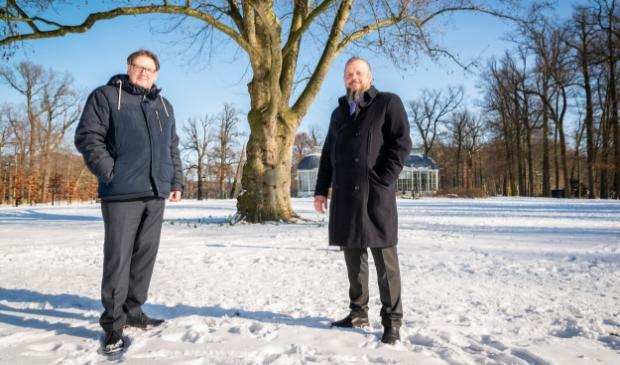 <p>Jan Torn en Immanuel Livestro.</p>