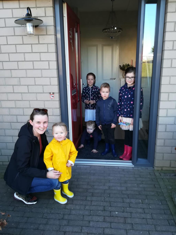 Familie van Vliet neemt prijs in ontvangst. Wilma Heijkoop © BDU media
