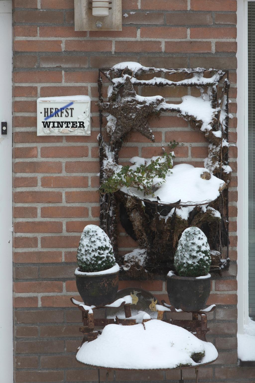 Je zal toch Herfst als naam hebben in de Winter willem ten Veldhuys © BDU media