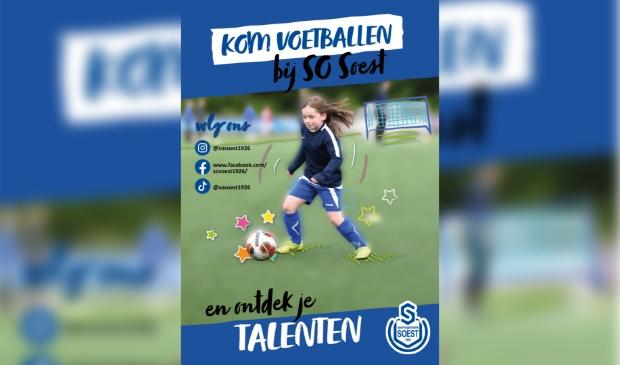 Gratis voetballen en trainen bij SO Soest