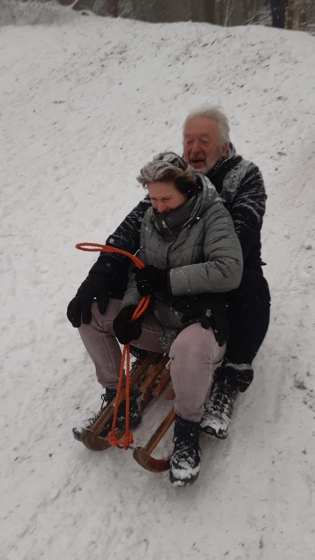 Werner en Anita van Katwijk in 't Wolvengat Leersum. Anita van Katwijk © BDU