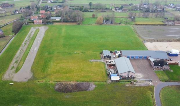 Het terrein in Nijkerkerveen blijft dit jaar opnieuw leeg