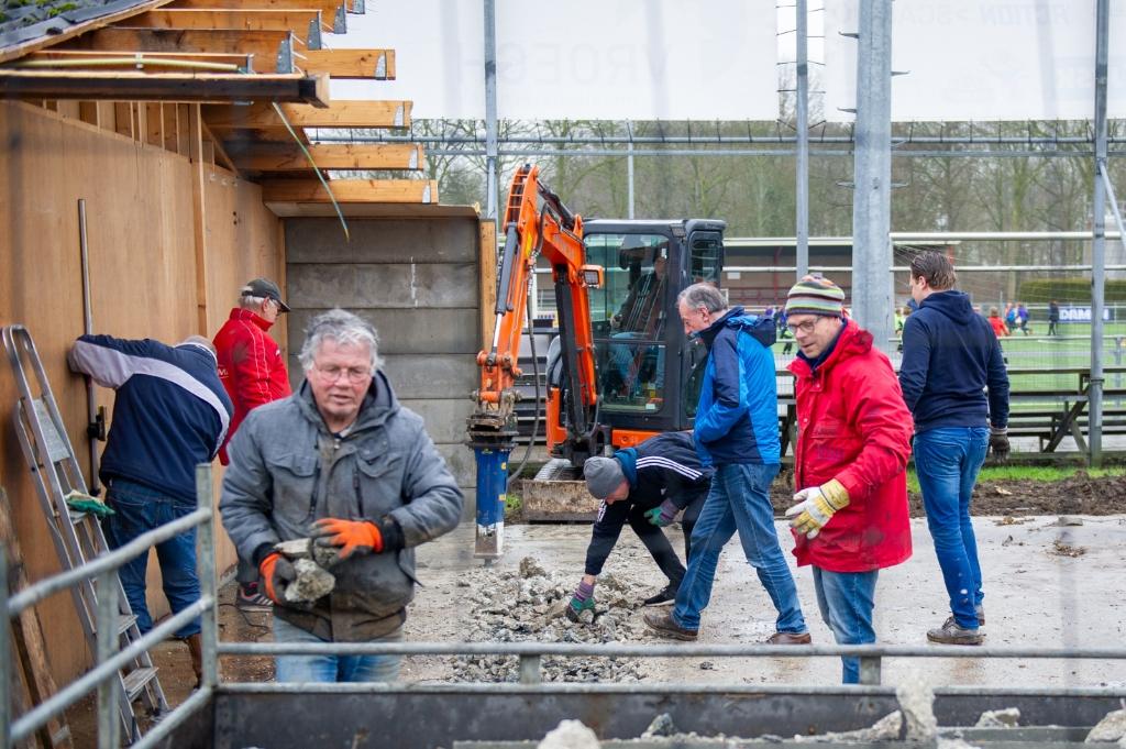 Puinruimen voor de nieuwbouw Theo Bos © BDU Media