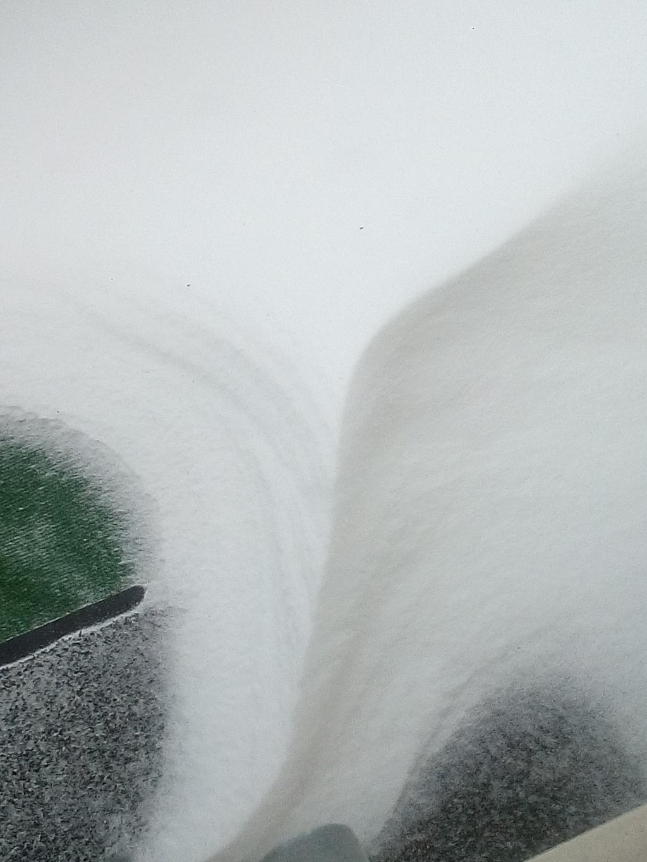 Sneeuwduinen op mijn balkon.... Carla Sakkers-Fritz © BDU media