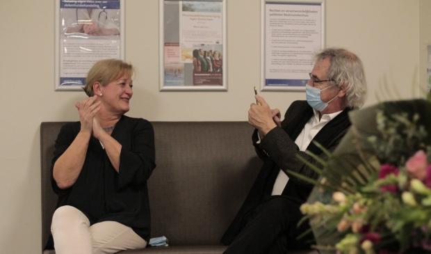 Judith van Boxtel - van Emmerik samen met haar man Roger van Boxtel