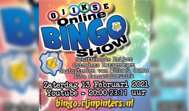 Ojikse Online Bingoshow!