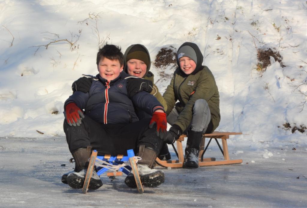 schaatsplezier in Harskamp Gerwin van Luttikhuizen © BDU media