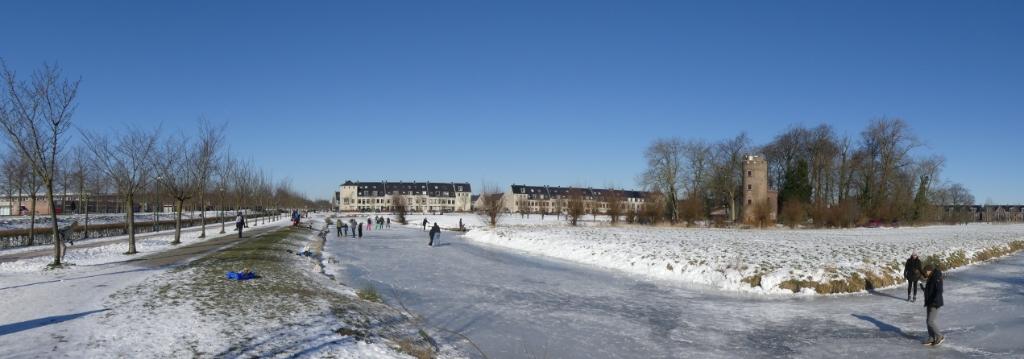 Winterpret bij kasteel Schonauwen Winny Hessing © BDU media