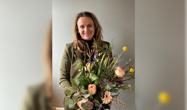 <p>&nbsp;Petra van Vlastuin: ,,Ik maak graag nog meer mensen blij met bloemen&rdquo;</p>