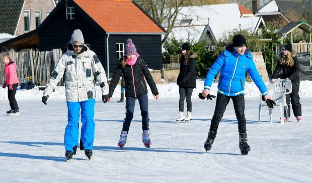 <p>Schaatsen ijsbaan</p>