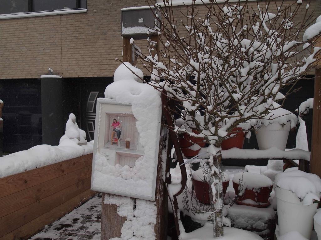 Atelier ingesneeuwd Elsinga © BDU media