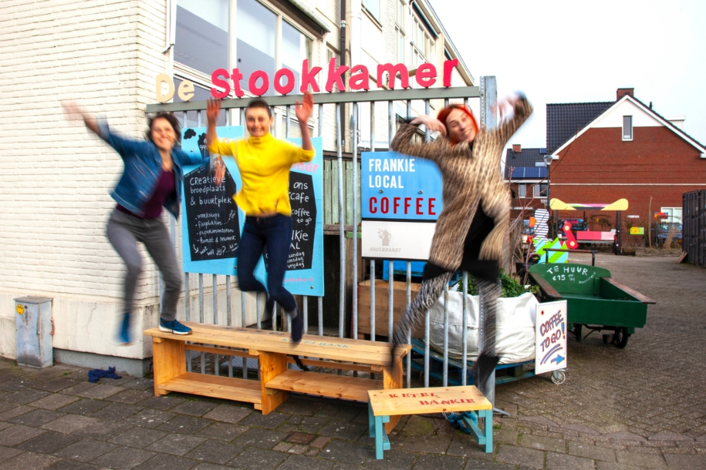 Hesje Andersson, Lotte de Haan en Maaike Postma voor de Stookkamer Finn Postma © BDU media