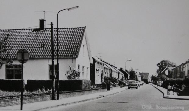 Boomgaardweg, vroeger