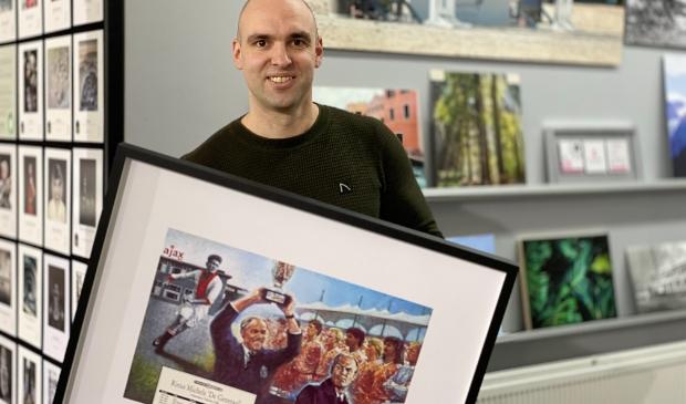 <p>Arjan Mulder: ,,Fotoinlijst.nl helpt mensen herinneringen tastbaar te maken.&#39;&#39;</p>