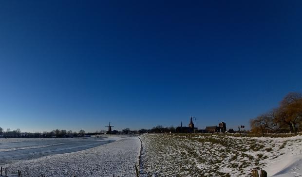 <p>Een winters plaatje van Wijk bij Duurstede</p>