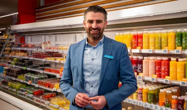 Supermarktmanager Marcel 't Hoen