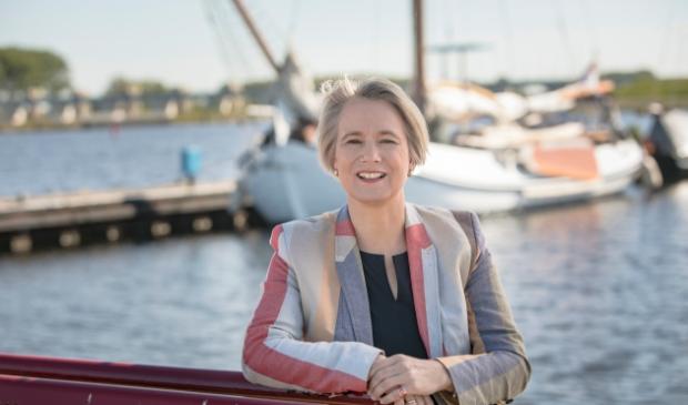 Wethouder Mariëlle Broekman is nauw betrokken bij de ontwikkeling van een visie op recreatie en toerisme.