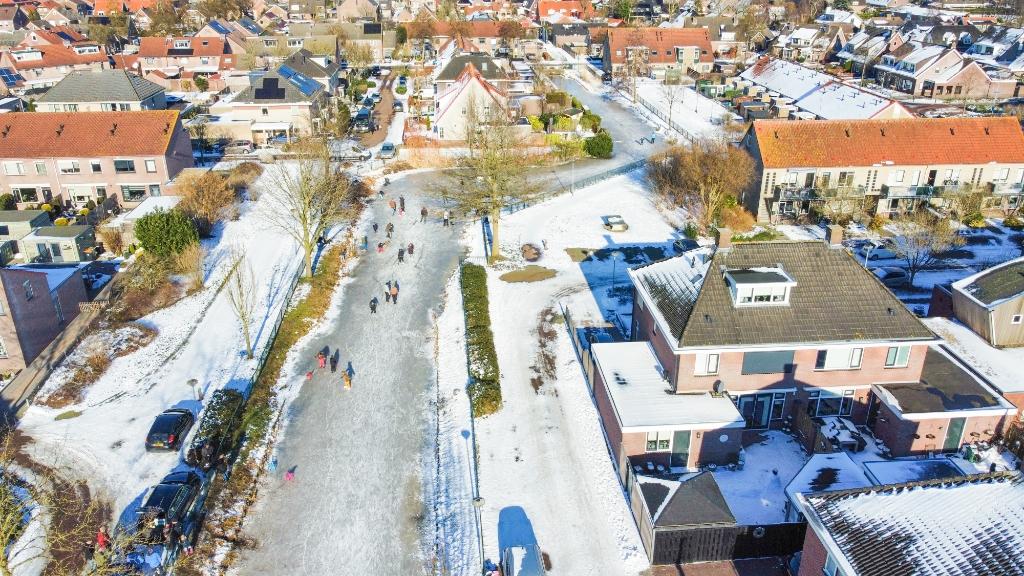 Schaatspret in Nijkerkerveen Zuid Aalt Guliker © BDU Media