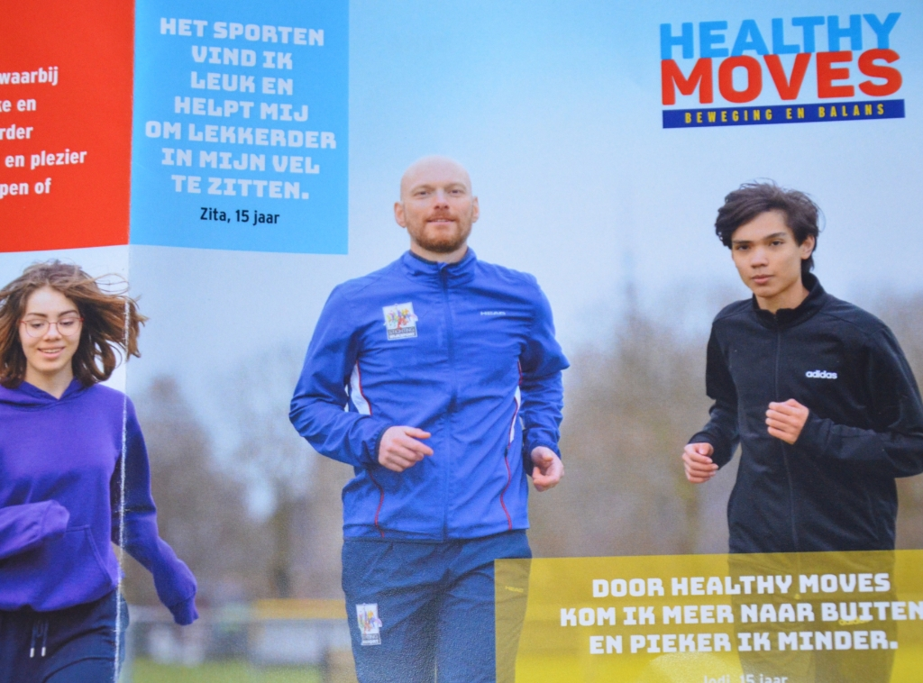 Jongeren zitten lekkerder in hun vel door het sporten Stichting Wijksport © BDU media