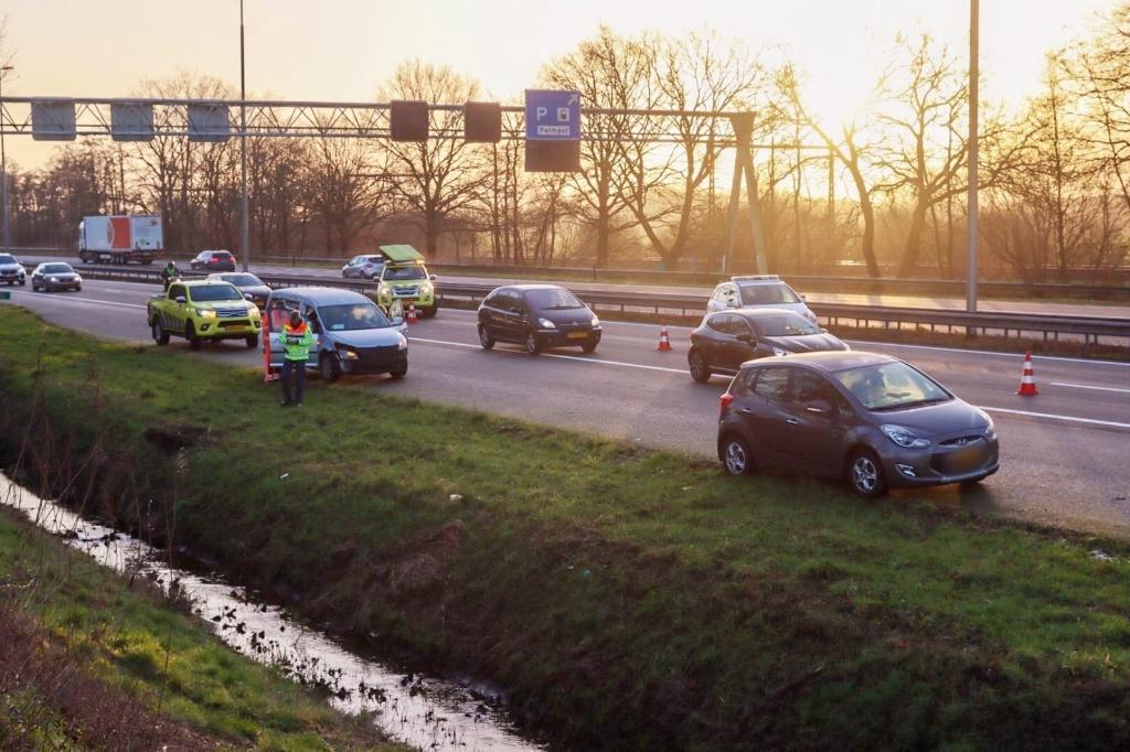 ongeluk A1 Terschuur AberMedia © BDU media