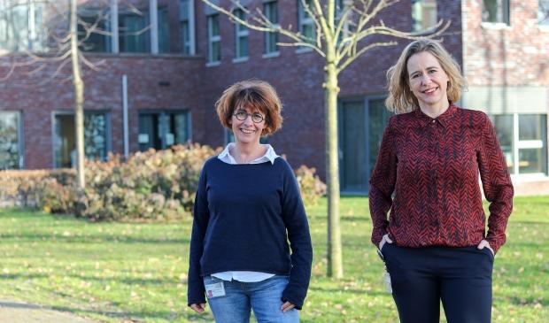 <p>De ondersteuningsconsulenten van Meander Medisch Centrum, Marianne van Dam en Diane Brons.</p>