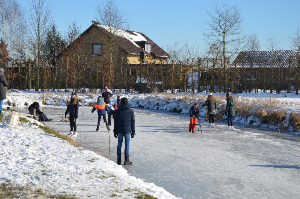 Ieder stukje ijs wordt benut, ook in Cothen Ali van Vemde © BDU media