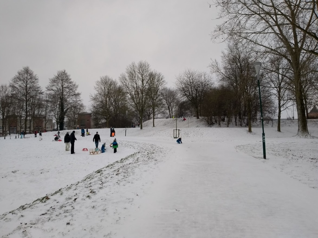 Sneeuwpret in Imkerspark TS © BDU media