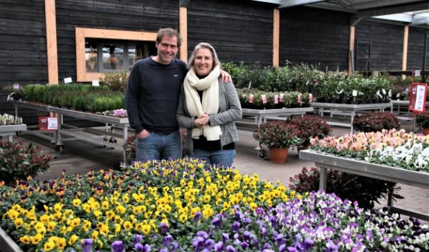 <p>Jordi en Katrie van Maasdam, de nieuwe eigenaren van de parel die Global Garden heet.</p>