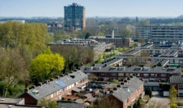 <p>Luchtopname deel Gildenwijk </p>