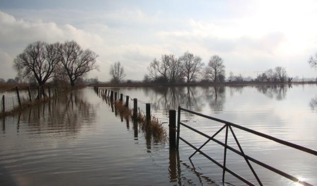 Hoog water in de Avelingen