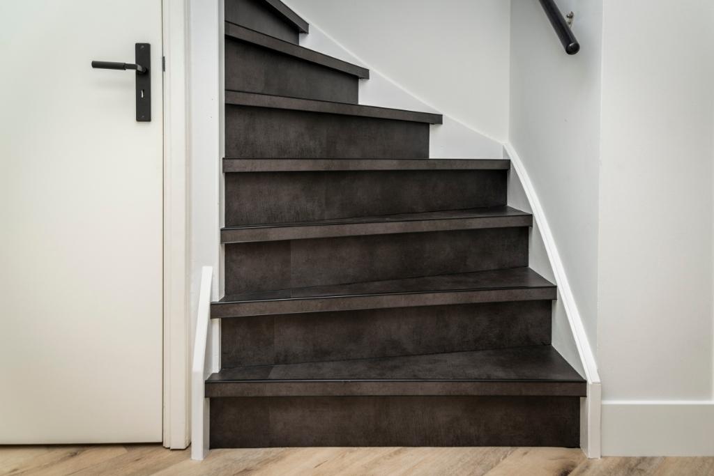 Ook de trap is voorzien van pvc. Pauw Media © BDU media