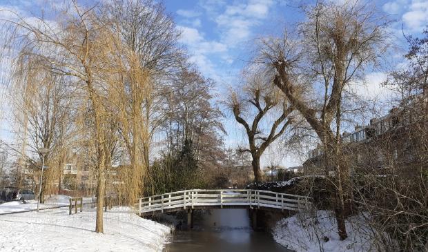 Monet in Ouderkerk: Het bruggetje bij de Machineweg