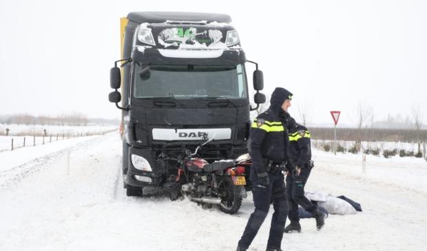 <p>Bij het ongeval raakte een 29-jarige man uit Zeist gewond.</p>