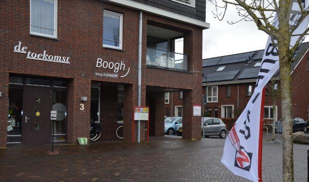 Het stembureau in Dorpshuis de toekomst