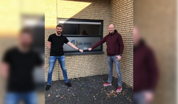 Jochim Ploeg (links) en Sjoerd de Jong