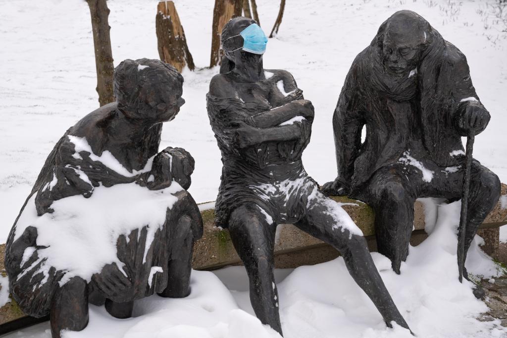 <p>Een foto van Edwin de Jongh van de &#39;De Recreanten&#39; in winter- en coronatijd.&nbsp;&nbsp;</p> <p>Edwin de Jongh</p> © BDU media