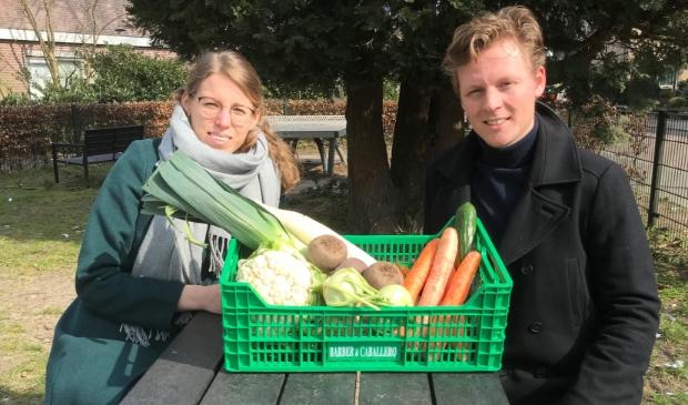 <p>Juliët Holtschlag en Justin de Witte ondertekenden de 150e intentieverklaring van Herenboeren Soest.</p>