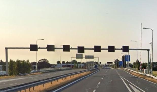 <p>De rijbaan van de N201 richting Hoofddorp.</p>