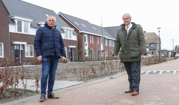 Directeur Wilgo van de Mheen en wethouder Wim Oosterwijk